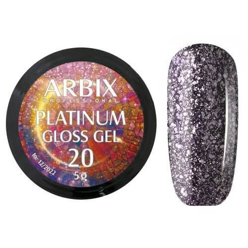 PLATINUM GLOSS GEL ARBIX 20 5 г