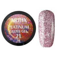 PLATINUM GLOSS GEL ARBIX 21 5 г