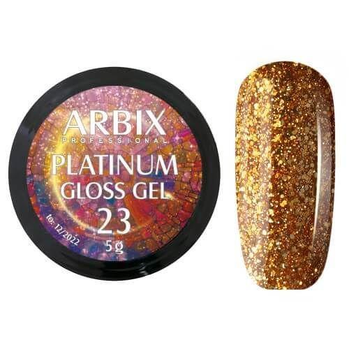 PLATINUM GLOSS GEL ARBIX 23 5 г