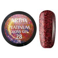 PLATINUM GLOSS GEL ARBIX 28 5 г