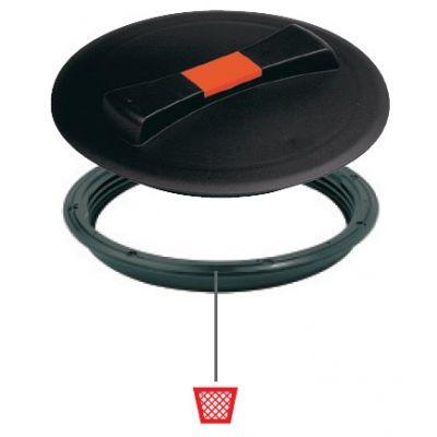 Крышка для емкости D620 пластиковая c дыхательным клапаном