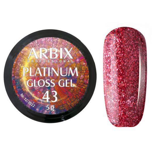 PLATINUM GLOSS GEL ARBIX 43 5 г