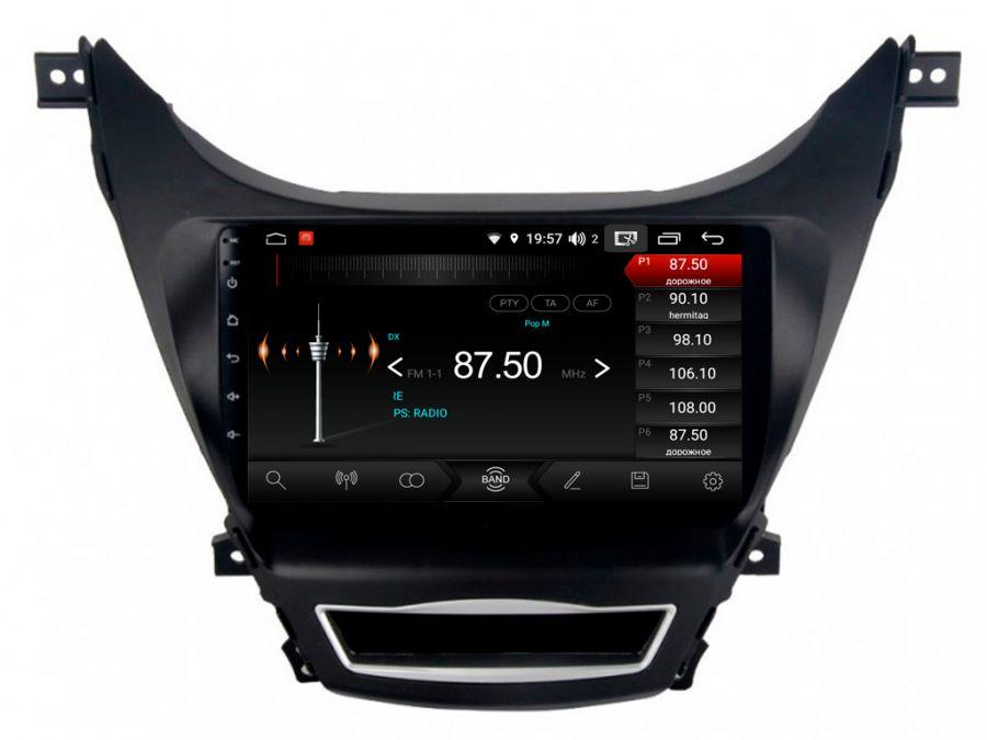 Магнитола для Hyundai Elantra (2011-2013) 09HL