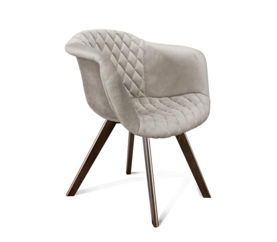 Кресло SHEFFILTON SHT-ST31-С2/S39 Лунный камень/венге