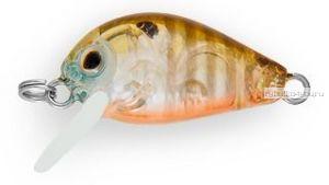 Воблер Strike Pro Crazy Plankton 21 мм / 1,3 гр / Заглубление: 0 - 0,4 м / цвет:  A68G Broun Gill Transparent