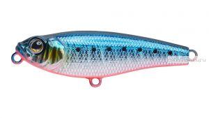Воблер Strike Pro Lipstick 45 мм / 3,6 гр / цвет:  A234-SBO-LU Blue Back Silver OB Fluo, светящийся