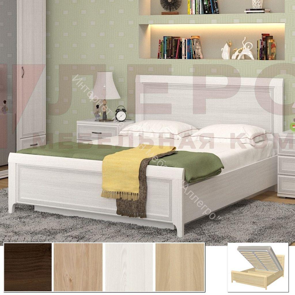 Карина Кровать КР-1024 (1,8х2,0) с П /мех. и жестким высоким изголовьем