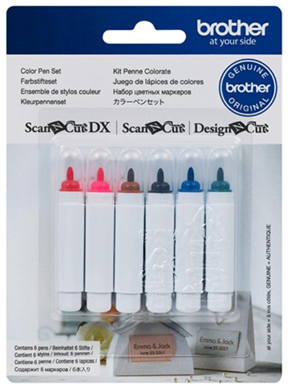 Набор цветных маркеров