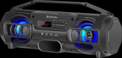 НОВИНКА. Портативная акустика G104 12Вт, Light/BT/FM/TF/USB/TWS