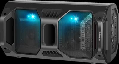 Портативная акустика Rage 50Вт, Light/BT/FM/USB/LED/TWS