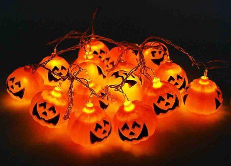 Гирлянды на Хэллоуин