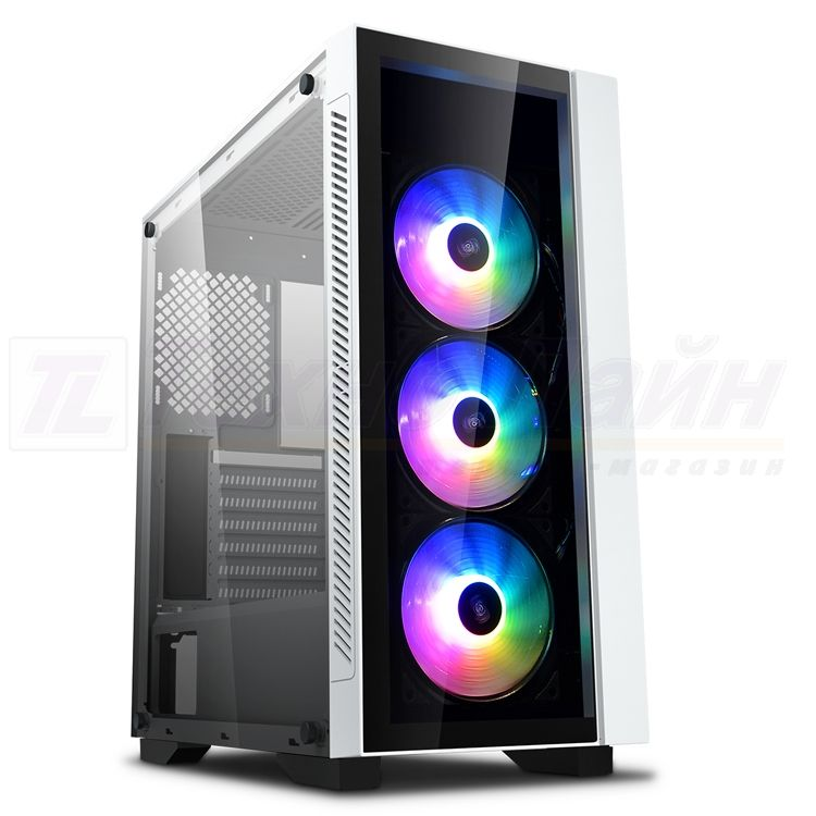 Корпус Deepcool Matrexx 55 V3 ADD-RGB 3F White