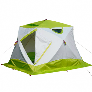 Зимняя палатка Лотос Куб 4 Классик/Компакт Термо (лонг)