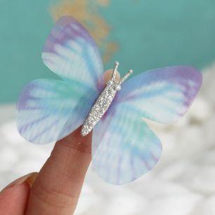 Аксессуар для кукол - бабочка голубая, 5.5 см