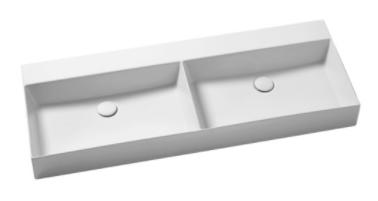 Двойная раковина Azzurra Elegance/Squared ELLP12245DQ0 122 x 45 ФОТО