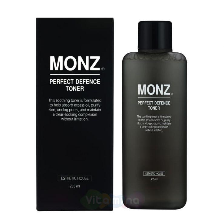 Esthetic House Тонер для лица для мужской кожи Monz Perfect Defence Set, 235 мл
