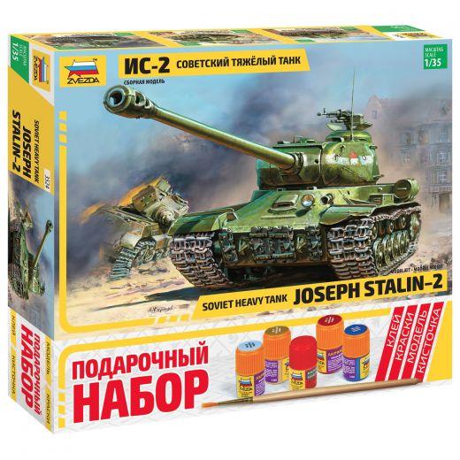 Подарочный набор сборный танк