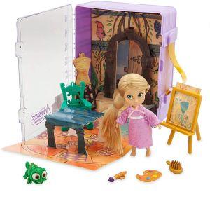 Кукла Рапунцель в чемоданчике игровой набор Дисней