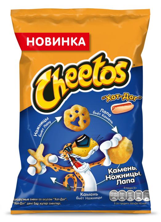 Чипсы Читос 55г Хот-Дог