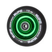 Колесо HIPE Solid 100 мм зеленый/черный