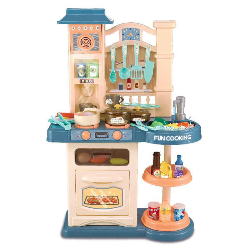 838A Детская кухня с водой, с паром, с музыкой и светом Fun Cooking 76 см. Бриз