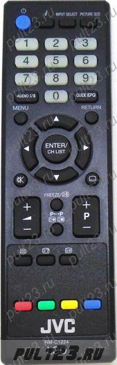 JVC RM-C1224, LT-32HG22J