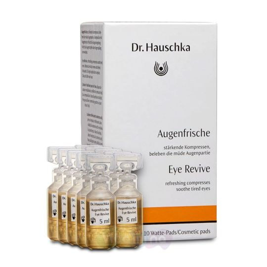 Dr. Hauschka Средство для снятия усталости глаз (Augenfrische), 10х5 мл