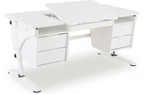 Растущий стол «PONDI» из МДФ Эргономик с двумя тумбами