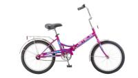 Городской велосипед STELS Pilot 410 20 Z011 Фиолетовый