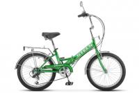 Городской велосипед STELS Pilot 350 20 Z011 (2018) Зелёный