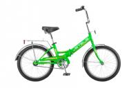 Городской велосипед STELS Pilot 310 20 Z011 (2018) Зелёный/желтый