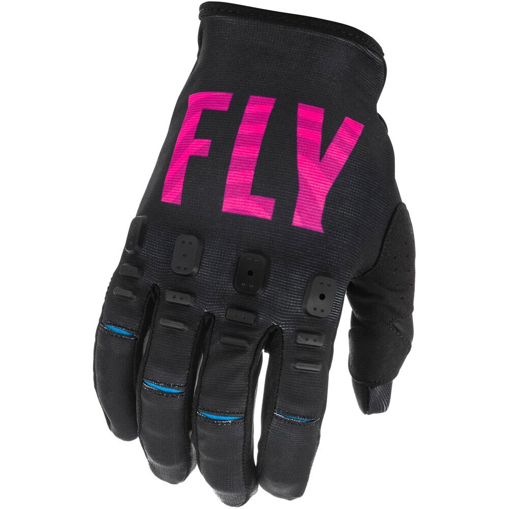 Fly Racing 2021 Kinetic K221 Special Edition Black/Pink/Blue перчатки