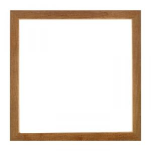 Рама для зеркал и картин, дерево, 35 х 35 х 3.0 см, липа, «Венге тёмный»
