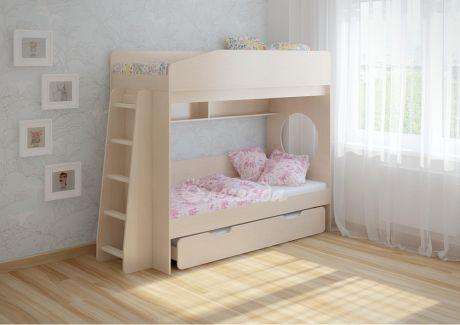 Трехъярусная кровать Легенда 10 (комплектация 4)