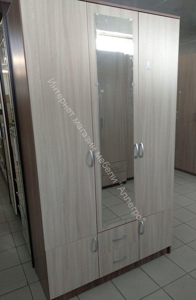 Шкаф Ронда ШК-3 с зеркалом