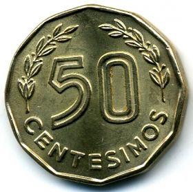 Уругвай 50 сентесимо 1976