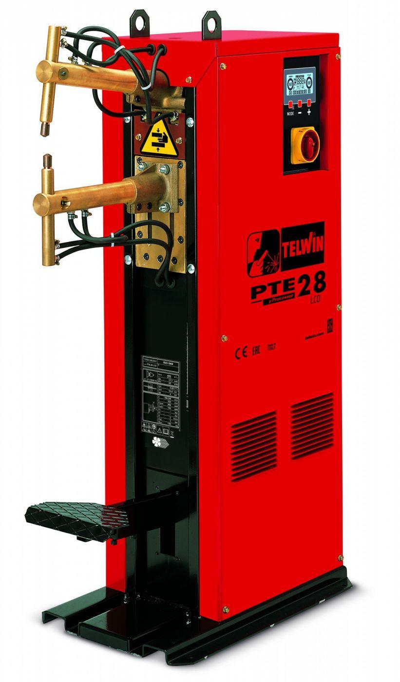 Сварочный аппарат PTE 28 LCD 400V