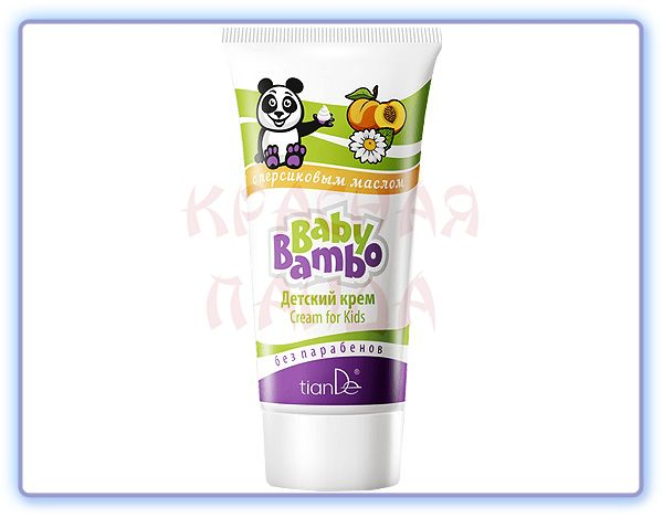 Детский крем Baby Bambo/Бейби Бамбо TianDe
