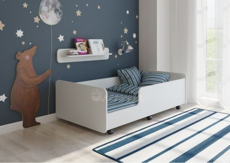 Детская кровать Легенда 24 белая