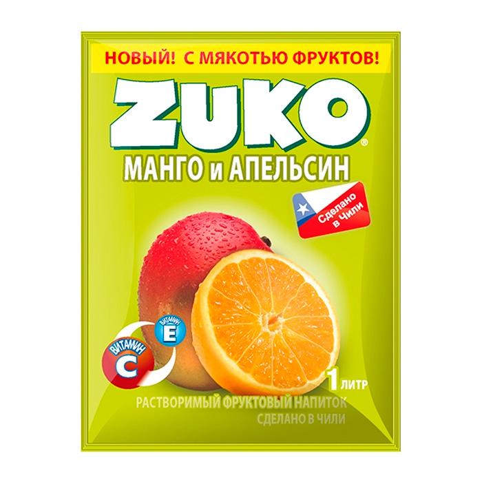 Напиток Zuko 25г манго/апельсин