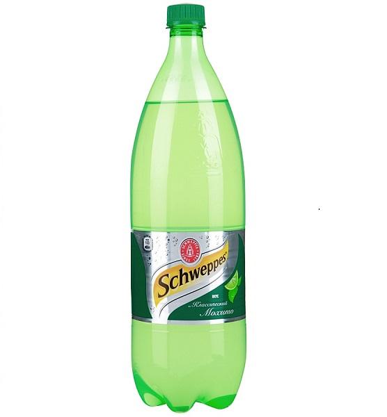 Газ. вода Швеппс 0,9л Мохито Кока-Кола