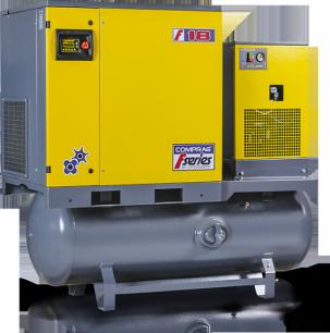 Винтовой компрессор COMPRAG FRD-2210-500 с осушителем