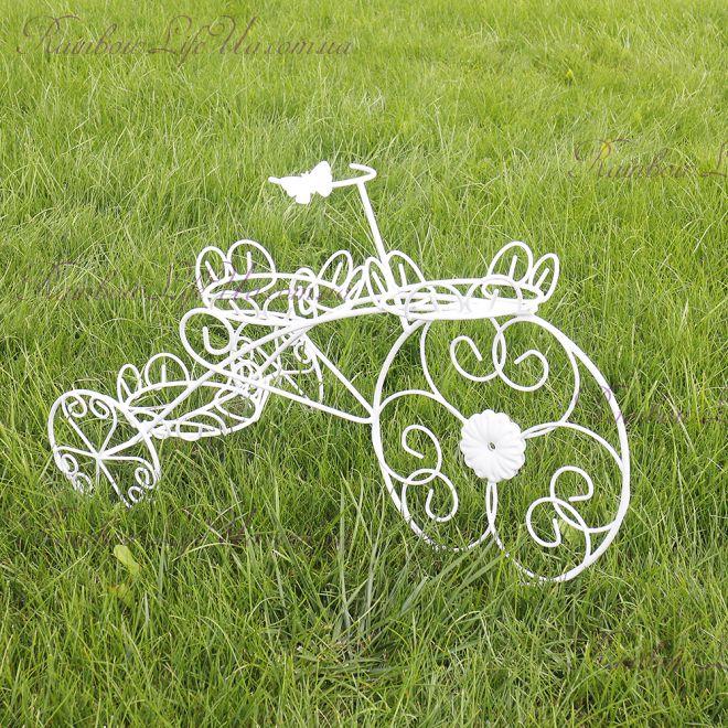 """Кашпо декор садовый """"Велосипед"""""""