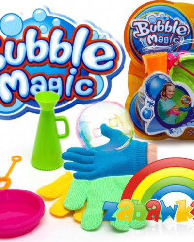 Набор для выдувания волшебных мыльных пузырей JUGGLE BUBBLES