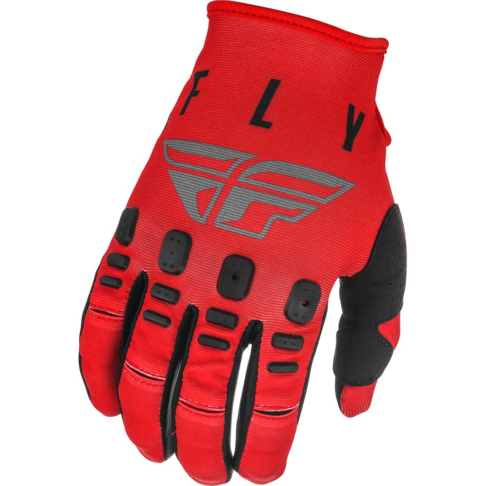 Fly Racing 2021 Kinetic K121 Red/Grey/Black перчатки