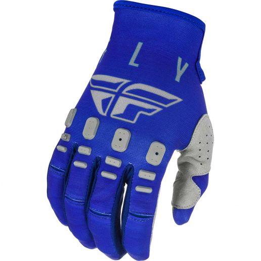 Fly Racing 2021 Kinetic K121 Blue/Navy/Grey перчатки