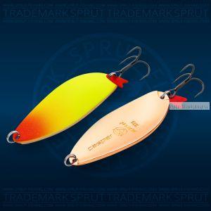 Блесна колеблющаяся Sprut Casper Spoon 78мм/33 гр / цвет: LRT