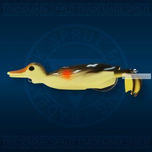 Воблер Sprut Duck Shot 100TW 100мм/16,5 гр / цвет: GS