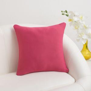 Декоративная наволочка «Этель», 40 ? 40 см., цвет розовый, блэкаут, п/э 100 %