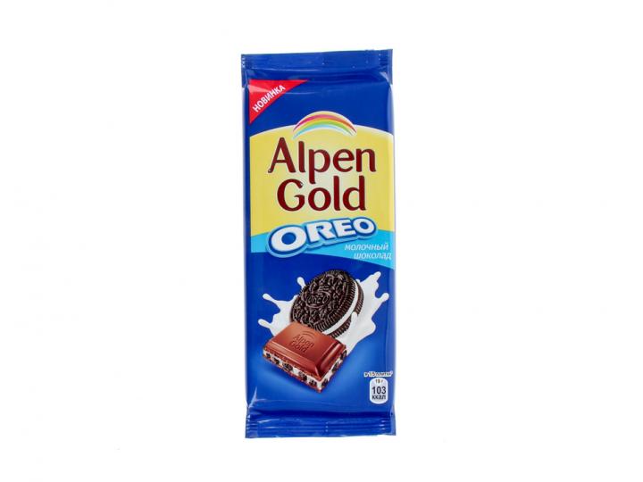 Шоколад Alpen Gold с Орео 95г